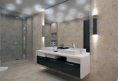 Free Bathroom Interior Royalty Free Stock Images - 28462319