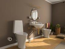 Bathroom interior Stock Image