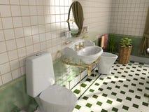 bathroom interior Στοκ φωτογραφίες με δικαίωμα ελεύθερης χρήσης