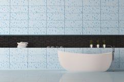 Bathroom interior 3d Royalty Free Stock Photos