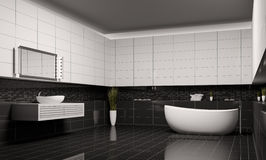 Bathroom interior 3d Stock Photo