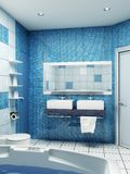 Bathroom interior Stock Image