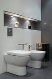 Bathroom interior Stock Images