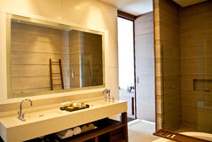 Bathroom interior Stock Images
