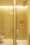 Bathroom interior of brand new luxury resort hotel Royalty Free Stock Photography