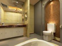 Bathroom interior Royalty Free Stock Photos