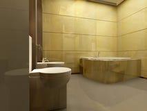 Bathroom interior Royalty Free Stock Photography