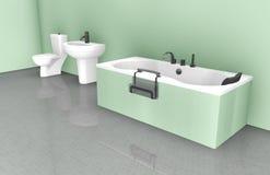 Bathroom Interior Design Stock Photo