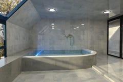 Bathroom interior design Stock Images