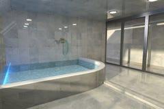 Bathroom interior design Royalty Free Stock Photos