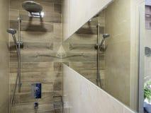Bathroom interior. Design and elements Royalty Free Stock Photo