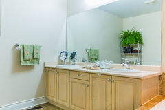 Bathroom Interior Design Stock Image