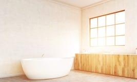 Bathroom interior design toning Stock Photo
