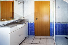 Bathroom interior and details Stock Image