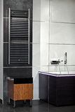 Bathroom interior in minimalism style Stock Images