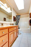 Bathroom interior in new american house Stock Photography