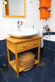 Bathroom interior - sink Stock Photos