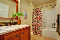 Bathroom interior. Stock Image