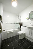 Bathroom interior view Stock Photo