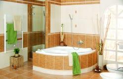 Bathroom interior view spa Royalty Free Stock Photography