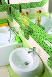 Bathroom interior view spa Royalty Free Stock Photo
