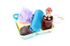 Bathroom items Stock Images