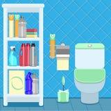 Bathroom items Stock Photos