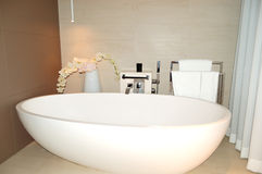 Bathroom in luxurious hotel Stock Photography