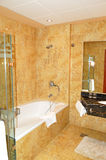 Bathroom in the luxurious hotel Stock Photography
