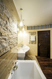 Bathroom in luxury home Royalty Free Stock Photography