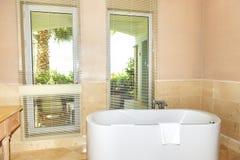 The bathroom in luxury hotel Stock Photos