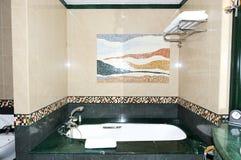 Bathroom in the luxury hotel Stock Photo