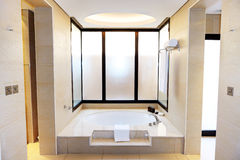 Bathroom in the luxury hotel Stock Photos