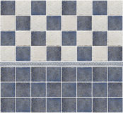 Bathroom marble tile mosaic Stock Photography