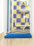 Bathroom mat Stock Photos