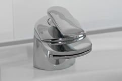 Bathroom mixer Stock Images