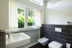 Bathroom of modern house Stock Photography