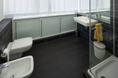 Bathroom of modern house Royalty Free Stock Photos