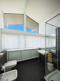 Bathroom of modern house Royalty Free Stock Images