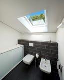 Bathroom of modern house Stock Image