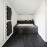 Bathroom of modern house Stock Photo