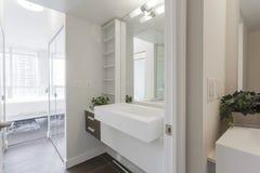Bathroom modern Interior Stock Photos