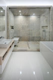 Bathroom in a modern loft style. Stock Images