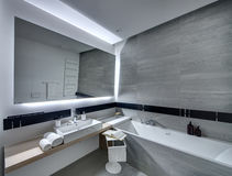Bathroom in modern style Stock Photography
