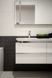 Bathroom. Modern and style with cool sink Stock Photo