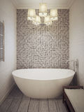 Bathroom modern style Royalty Free Stock Image
