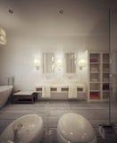 Bathroom modern style Stock Photography