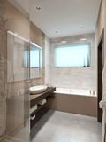 Bathroom in modern style Stock Images