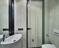 Bathroom in modern style Royalty Free Stock Photography