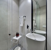Bathroom in modern style Royalty Free Stock Images